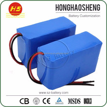 China supply 18650 24v 10ah Li Ion Battery Pack For Hoverboard