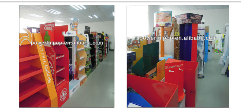 Custom Point Of Sale Advertising Cardboard Sunglasses Display