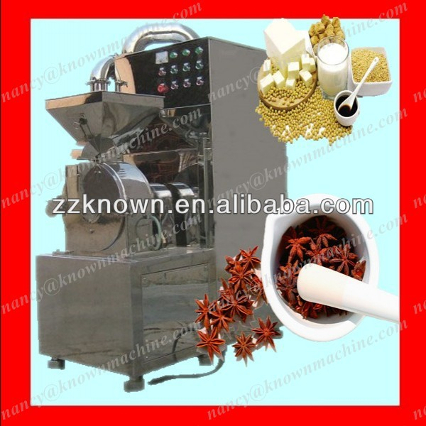 Used for peppertree pricklyash anise turmeric spices powder making machine