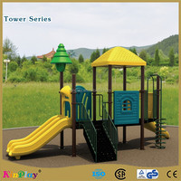 Outdoor kids play equipment for amusement park