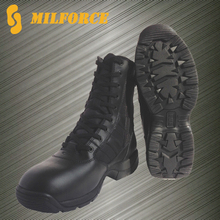 Milforce black good quality US style military police tactical boots