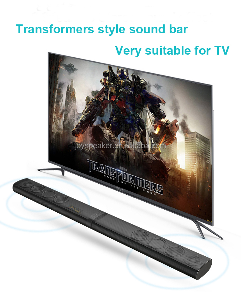 Super cool design 80W tv sound bar home theater system