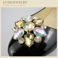 New Arrival Rhinestone Metal Shoe Clips