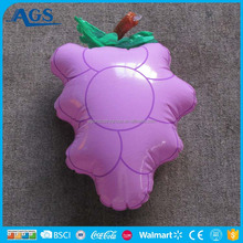 kids food combination educational toys inflatable purple grape