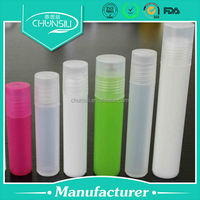 2ml-15ml Cosmetic eye cream plastic roll on printing machines for plastic containers