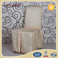 Made In China For Wedding Banquet Hall Luxury Ruched Chair Cover
