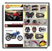 Cheap Bajaj Pulsar motorcycle spare parts high quality motorcycle headlight Bajaj Pulsar motorcycle spare parts