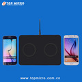 Fast Charging QI Standard Dual-Charger Wireless Phone Charger