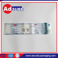 plastic bank cash bag security seal/custom security bags/security bags and seals