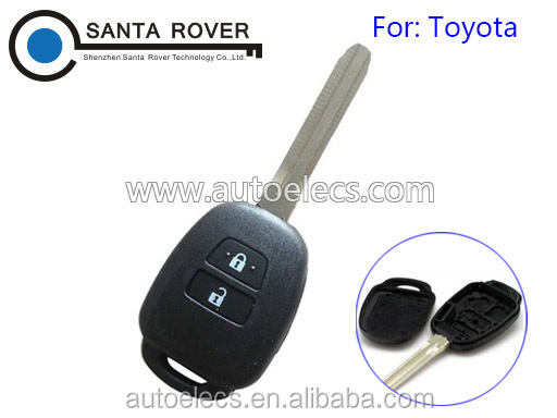 For Toyota Camry 2012-2014 Remote Key Fob Case 2 Button