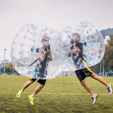 inflatable human sized bumper ball prices soccer bubble