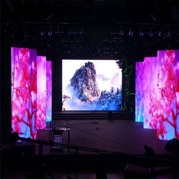 WIFI wireless Transparent led display for stage show