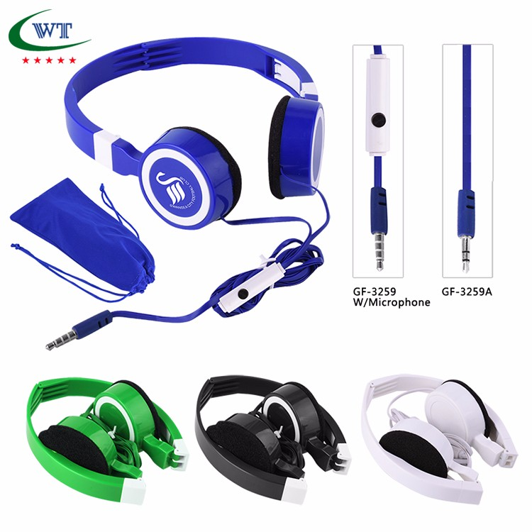 wire computer noise cancelling headphones with gaming microphone