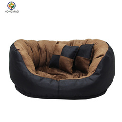 Ultimate Solid Waterproof Dog Bed Memory Foam for Medium & Large Dogs