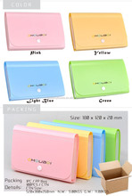 custom colorful A4 size paper pp lock briefcase, carrying case