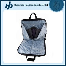Durable polyester suit dress clothes cover work travel foldable garment bag