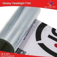 New 2016 China Supplier Glossy Headlight PVC Self Adhesive Cold Lamination Film