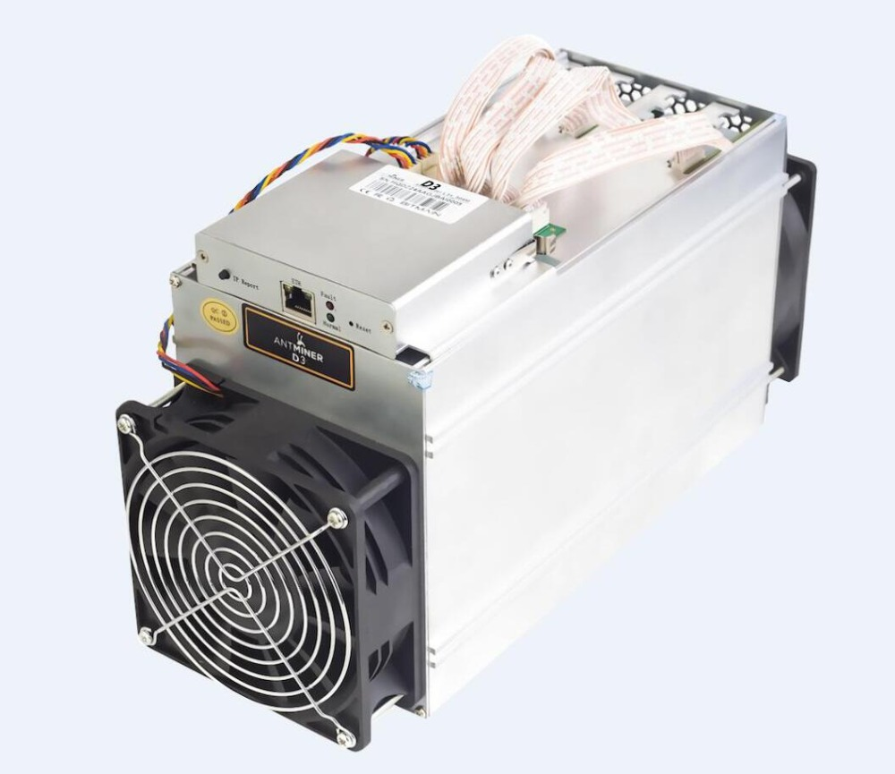 2017 Preorder Bitmain Antminer D3 15GH/s 1200W DASH Mining Miner ( 500pcs Selling For Oct 20th-30th )