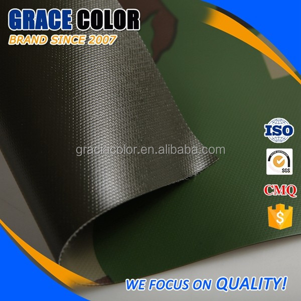 Strong Tearing Strength Flame Retardant PVC Tarpaulin