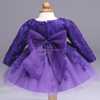 2018 Kids Girls Birthday Party Wedding Princess tutu Dress For Baby Girls Clothes Lace Flowers Children Bridesmaid Elegant Dress