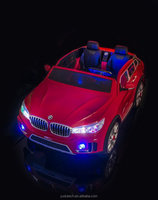 Kulaber Red BMWX7 Style Kid's 2 Seater for 2 kids Battery Powered Remote Control W/FREE MP3 Player Ride on car