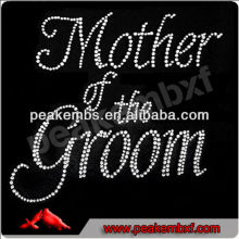 Beautiful mother of the groom fabric with rhinestones bridal