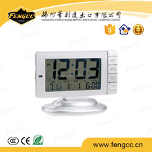 LED Digital Table Clock Display with Temperature and Calendar