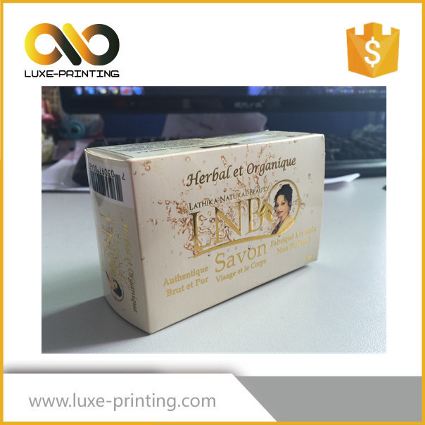Die cut shape kraft paper material made DIY accept wrapping paper for soap packaging