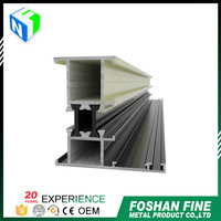 China supplier aluminum extrusion profile aluminium door and window system profiles