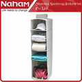 NAHAM Best Selling Hanging Pocket Organizer/ 5 Shelves Folding Hanging Organizer