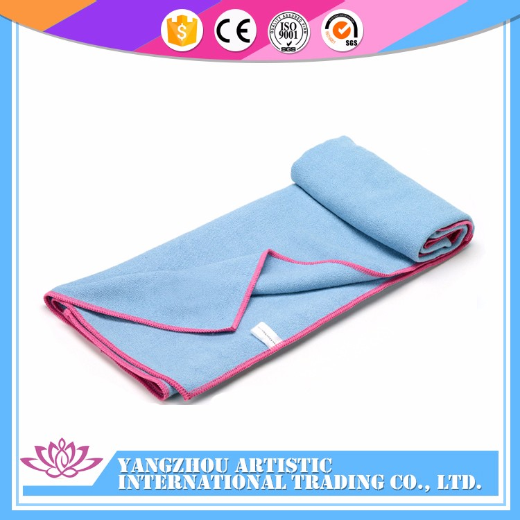 Wholesale soft microfiber quick dry sports yoga towel