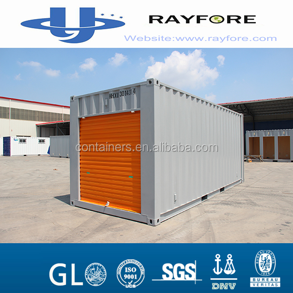 20ft new open side door container from Golden with one door