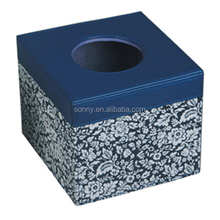 Good looking embroidery cloth tissue box cover