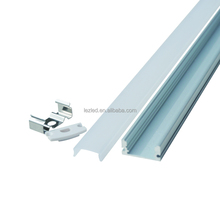 Top qualified extrusion plastic profile and anodized led Aluminum profile for led strip light