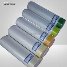 Shanghai Tape Manufacturer masking paper pretaped spray auto paint masking film with crepe paper