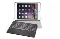 Wireless Removable Bluetooth Keyboard Leather Case for Apple iPad Pro