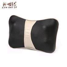 CE approved back rolling massage pillow battery operated neck massage pillow