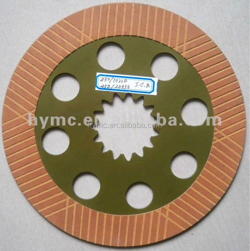 JCB 3CX friction disc 450/10224 458/20353 spare parts