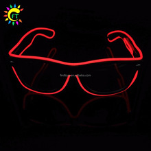 EL Wire Neon Glasses LED Sunglasses Light Up Costumes LED Party Glasses