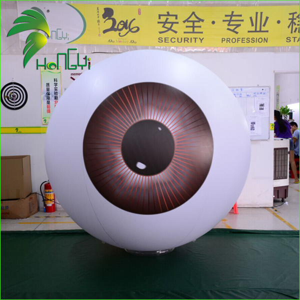 Charming Creative Large Inflatable Eye Eyeball Helium Balloon For Advertising
