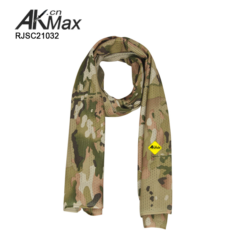 Multicam Printed knitting Head Scarf For Army Use