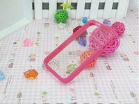 TPU Bumper Frame Silicone Skin Case for Iphone5