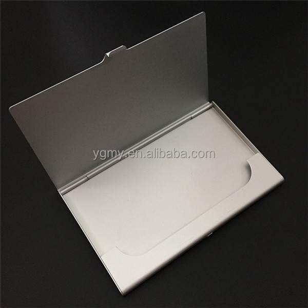 Business ID Credit Card Case Metal Fine Box Holder