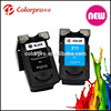 compatible for canon PIXMA MP240/250/270/280 remanufactured ink cartridge for canon PG210 CL211