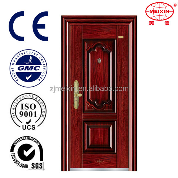 Professional Standard Alibaba China Supplier New Product Red Security Steel Door