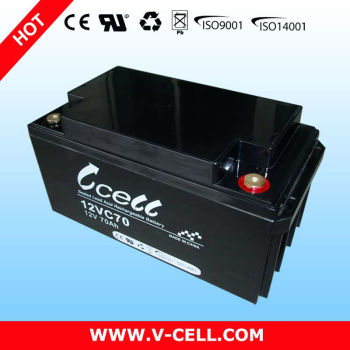 12v70ah Agm deep cycle battery