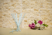 Customized Party Favor Item Type Checkered Drinking paper straws