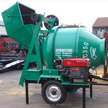 Hot sale in India! JZC350(10-14m3/h) cement batch mixer with affordable price