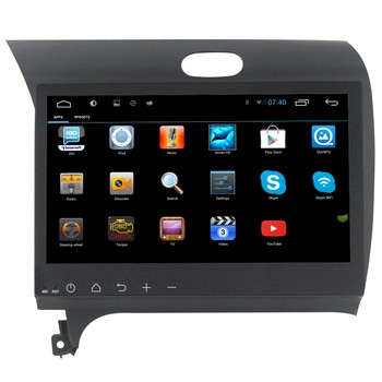 10.2 screen android 4.4 special car dvd gps / car radio / car audio for K3