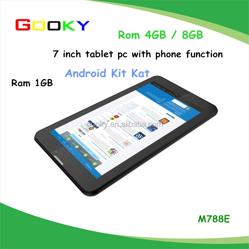 1G/8G nice tablet 7 inch tablet capacitive 1024*600 LCD screen 4.4 Android 7 inch tablet pc dual core MID